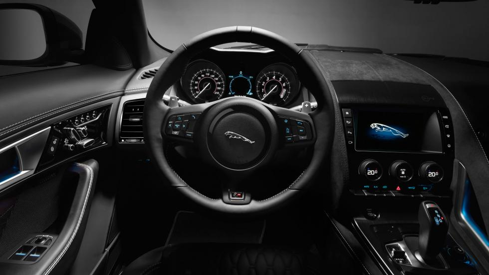 Jaguar F-Type SVR, interior