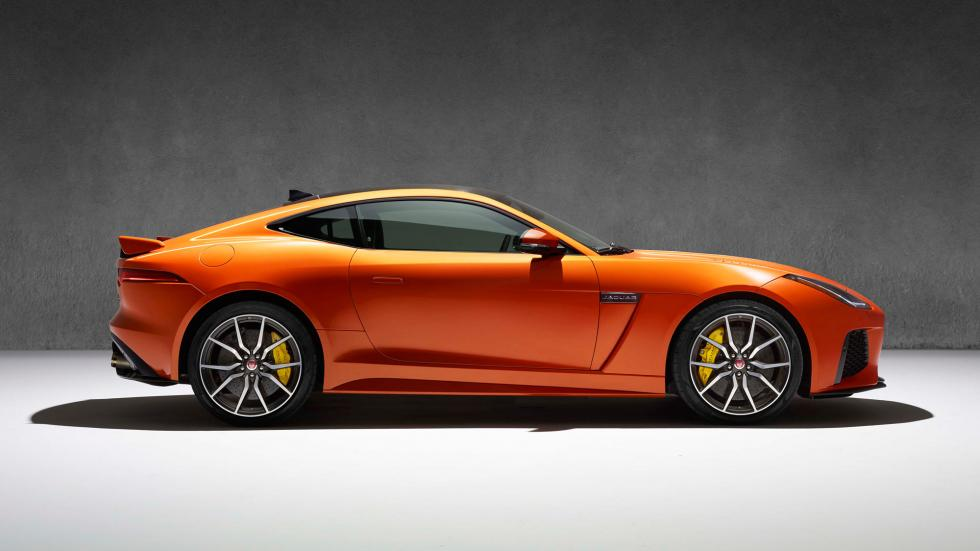 Jaguar F-Type SVR, lateral