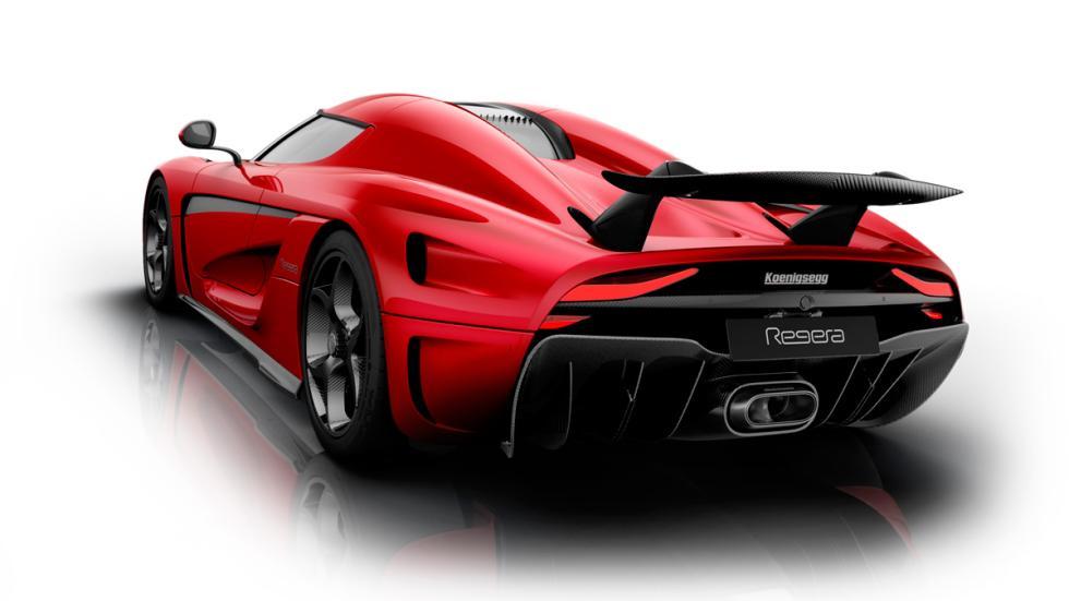 Koenigsegg regera, trasera