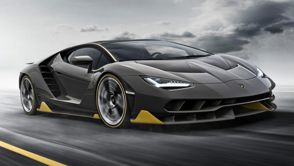 Lamborghini Centenario Portada