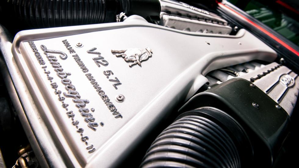 Lamborghini Diablo SV Motor