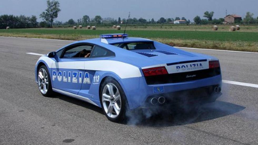 Lamborghini Gallardo - Policía de Italia