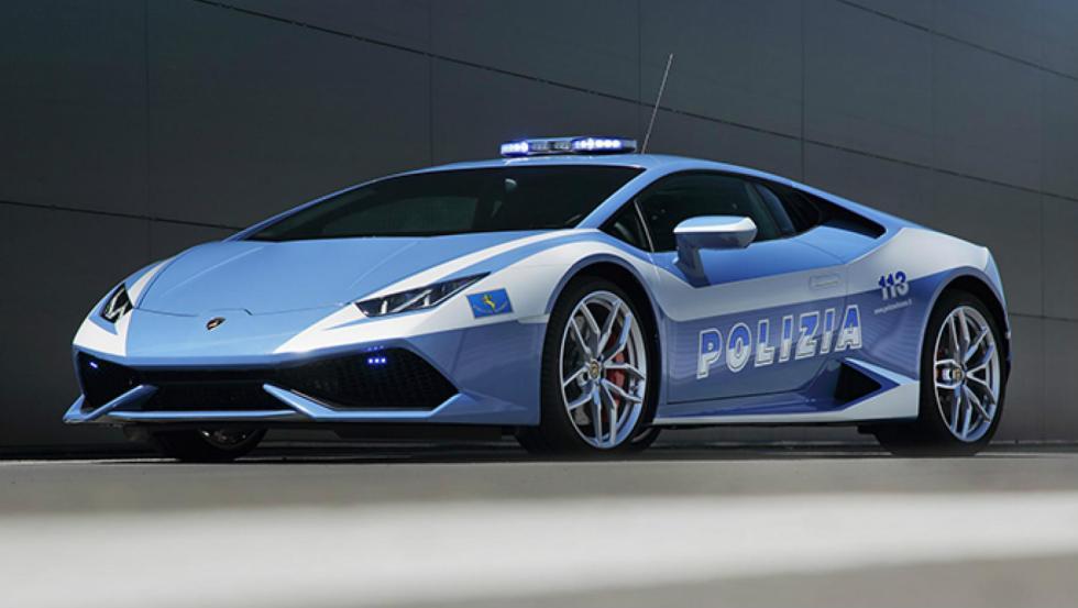 Lamborghini Huracán - Policía de Italia