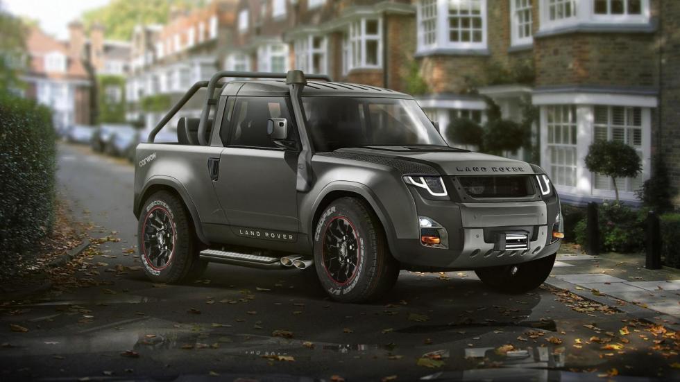 Land Rover postureo