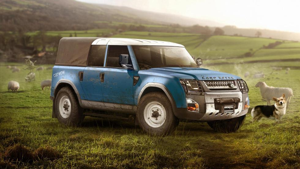 Land Rover de trabajo
