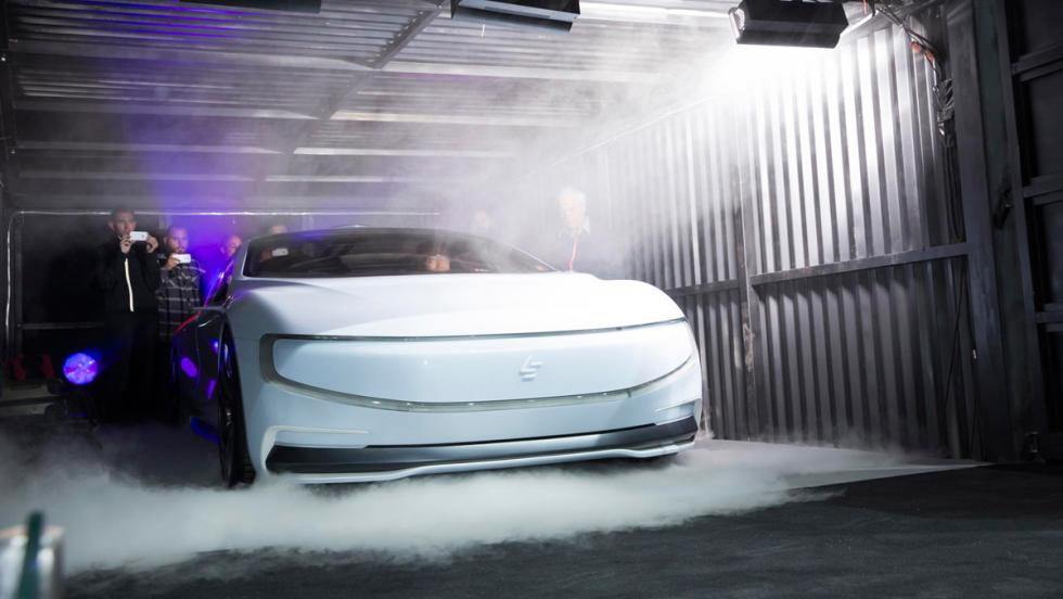 LeEco LeSEE concept, frontal