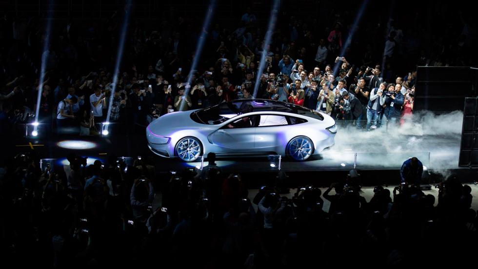 LeEco LeSEE concept, lateral