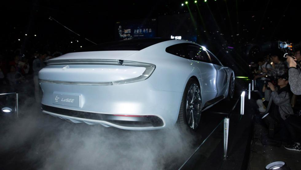 LeEco LeSEE concept, trasera