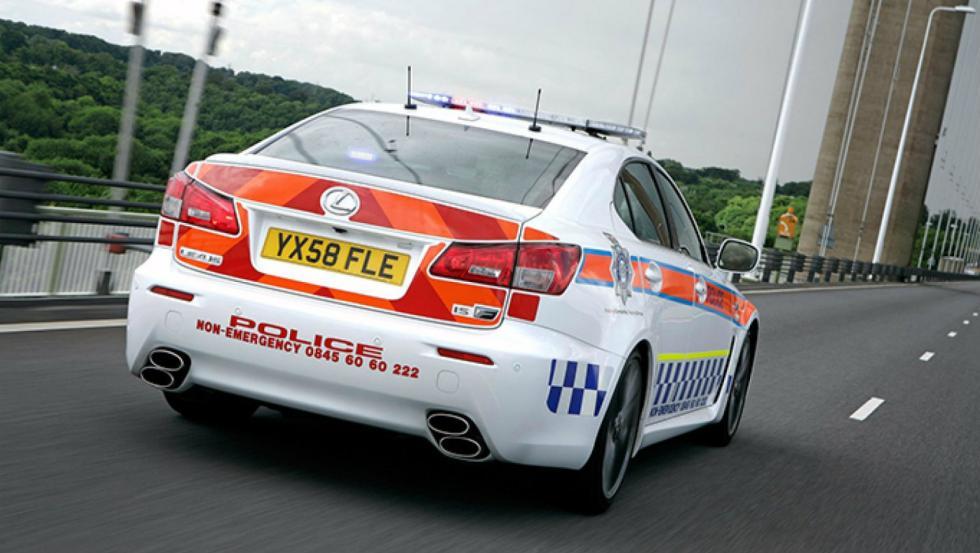 Lexus IS-F - Policía de Reino Unido