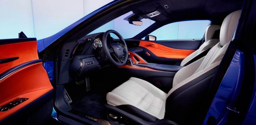 Lexus LC 500h, asientos