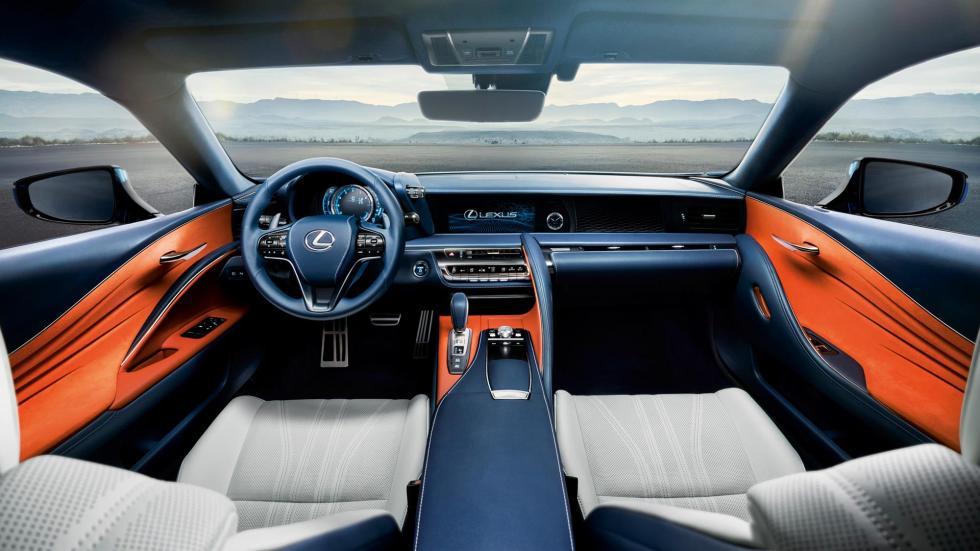 Lexus LC 500h, habitáculo