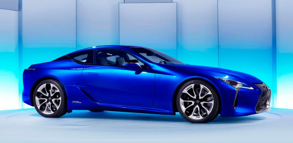 Lexus LC 500h, lateral