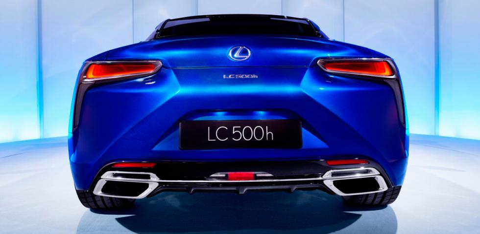 Lexus LC 500h, trasera