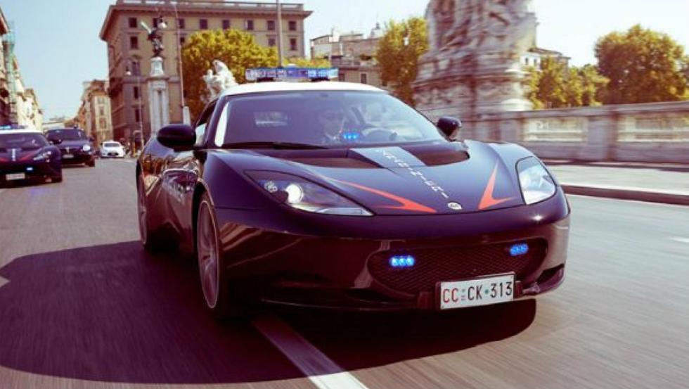 Lotus Evora S - Policía de Italia