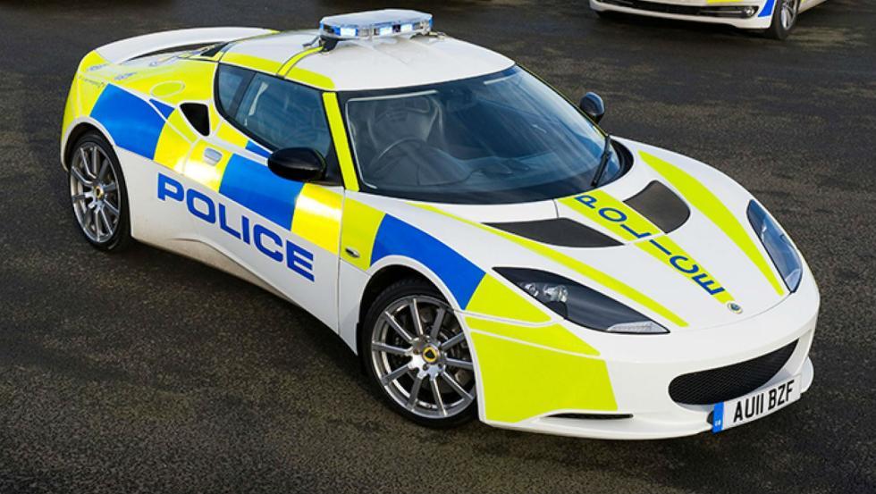 Lotus Evora S - Policía de Reino Unido