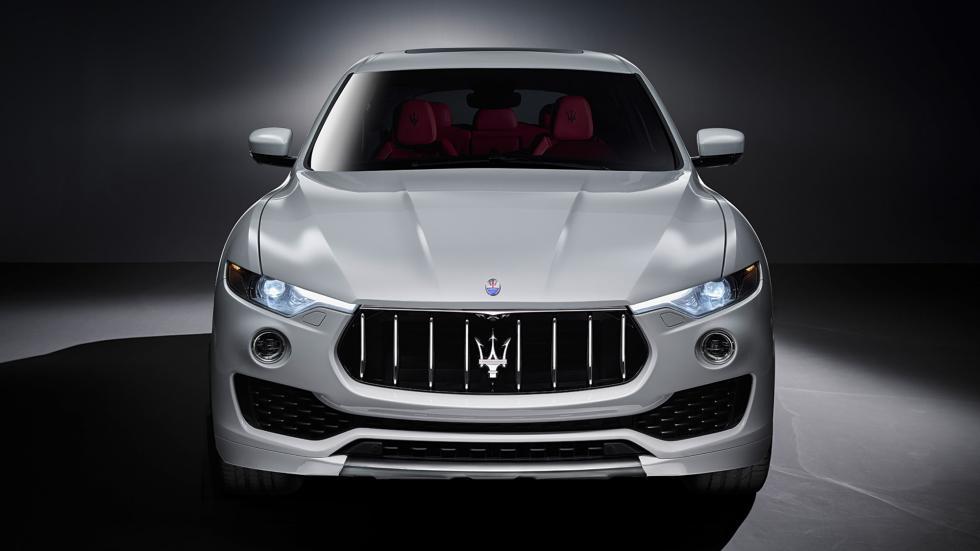 Maserati Levante frontal tridente