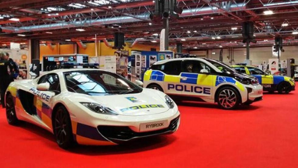 McLaren 12C - Policía de Reino Unido