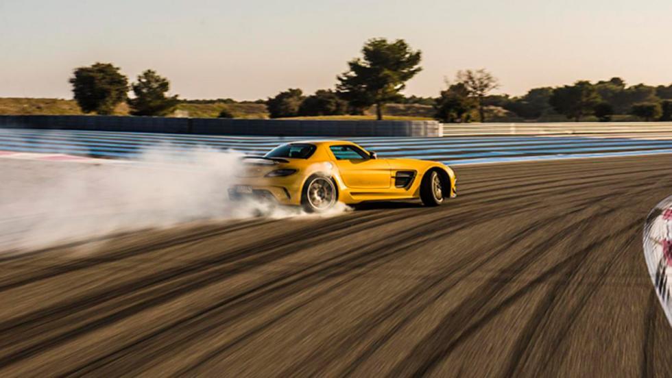 Mercedes-AMG GT S derrape