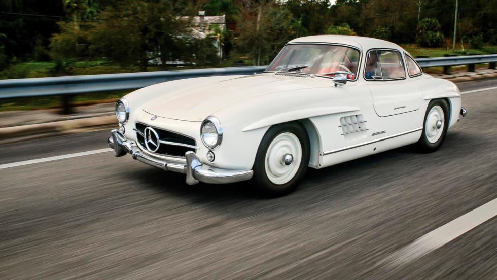 Mercedes-Benz 300 SL Alas de Gaviota, Amelia Island Concours
