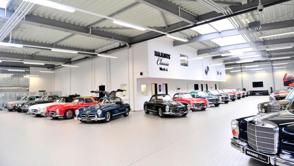 Mercedes-Benz clásicos restaurados por Brabus
