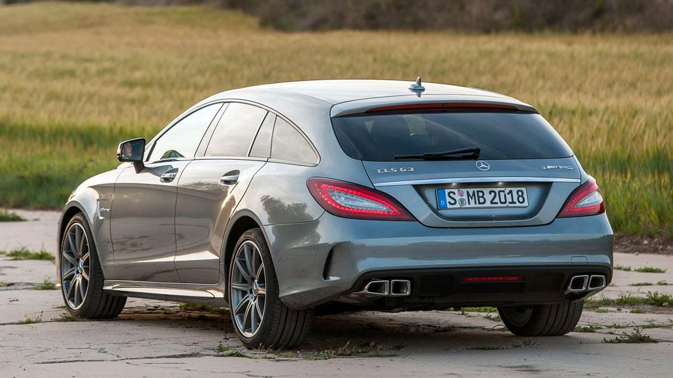 Mercedes CLS 63 AMG Shooting Brake deportivo familiar