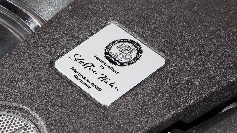 Mercedes GLE 63 AMG Firma motor