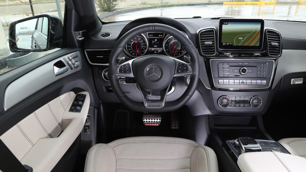 Mercedes GLE 63 AMG Interior
