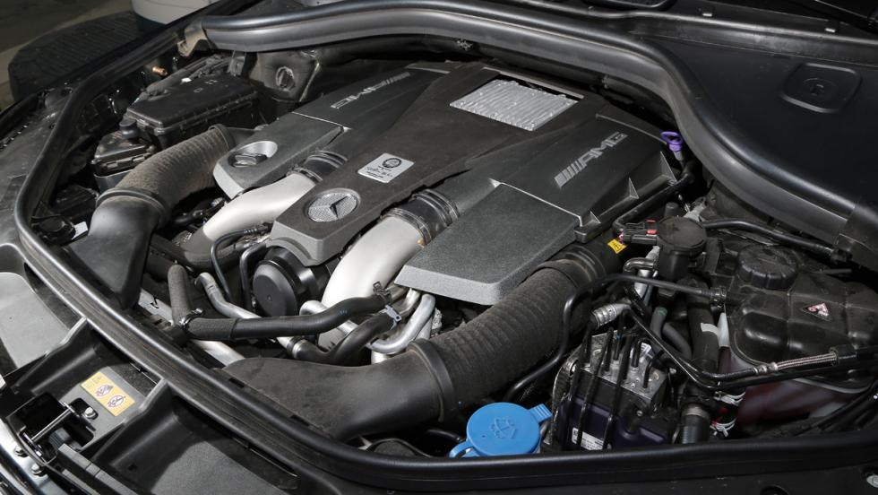 Mercedes GLE 63 AMG Motor