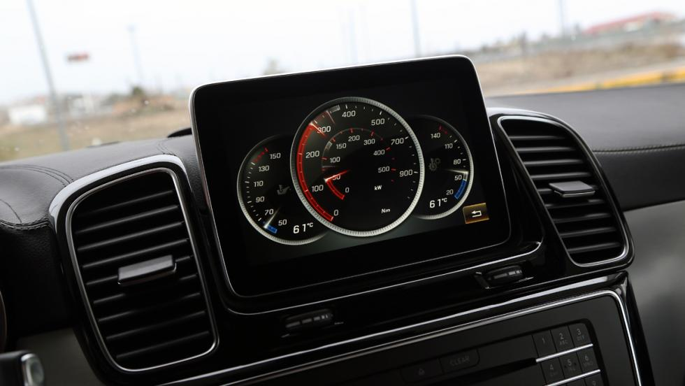 Mercedes GLE 63 AMG Pantalla