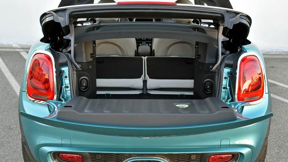 Mini Cabrio 2016 maletero