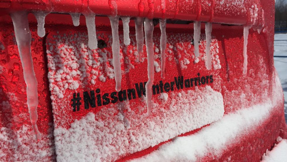 Nissan Winter Warrior Concept, detalle