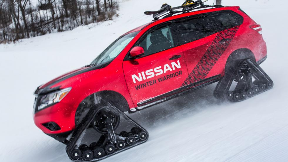 Nissan Winter Warrior Concept, lateral