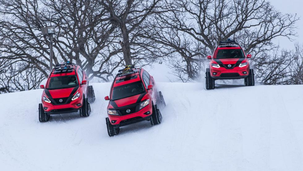 Nissan Winter Warrior Concepts, dinámica