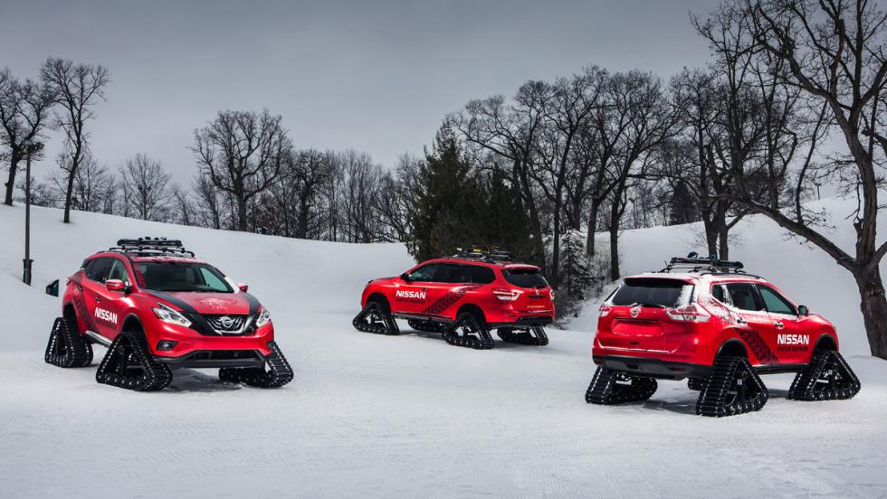 Nissan Winter Warrior Concepts, estática