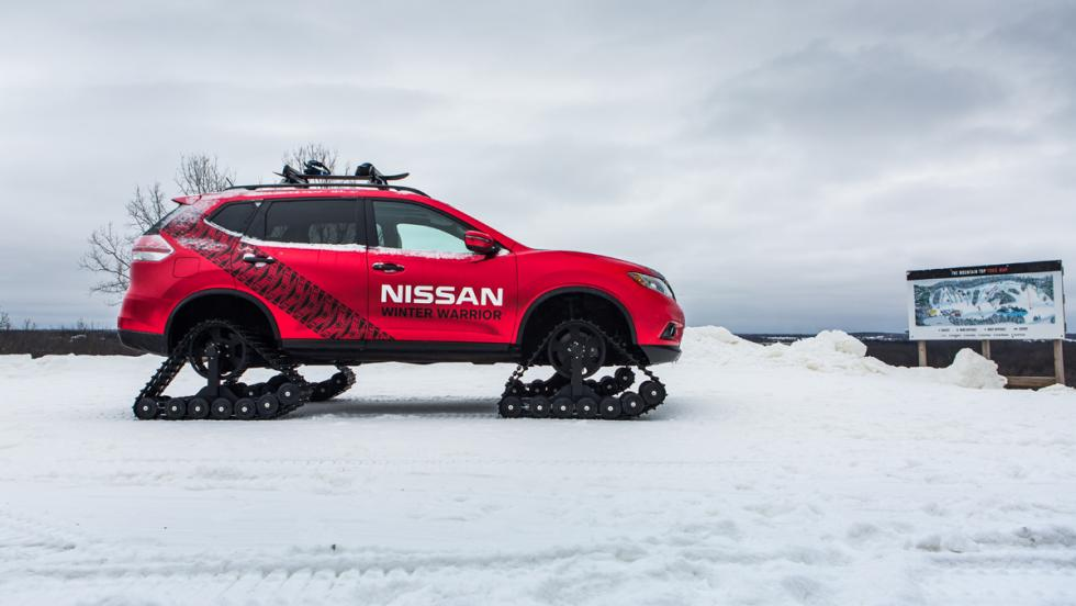 Nissan Winter Warrior Concepts, lateral