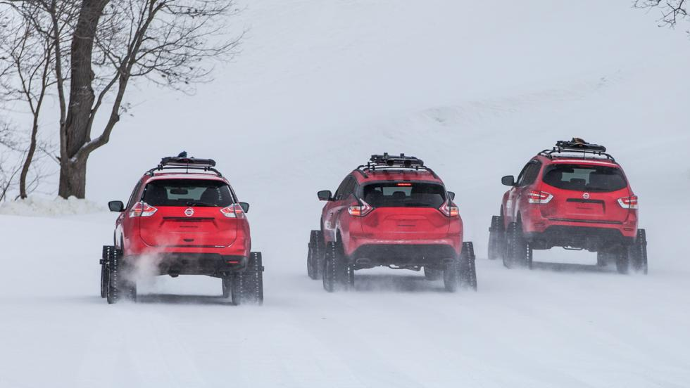 Nissan Winter Warrior Concepts, trasera