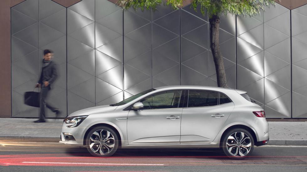 Nuevo Renault Mégane 5p, lateral