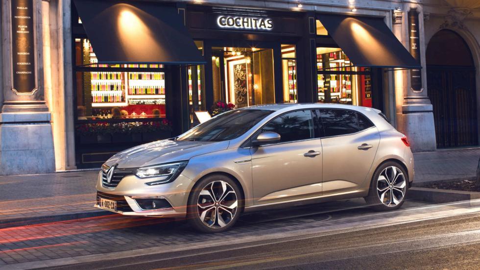 Nuevo Renault Mégane 5p, lateral.