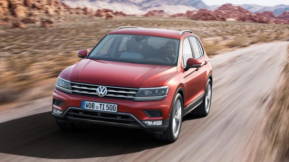 Nuevo Volkswagen Tiguan, dinámica