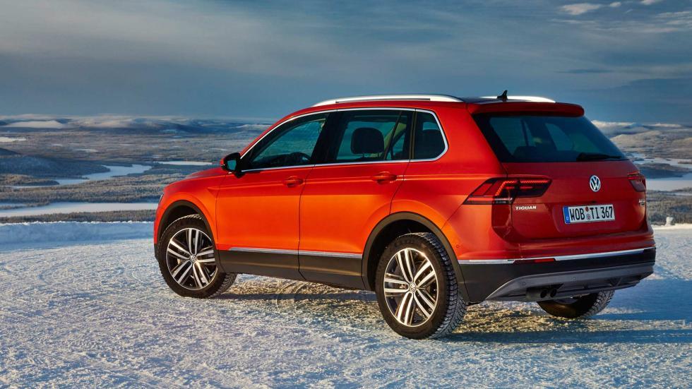 Nuevo Volkswagen Tiguan, trasera