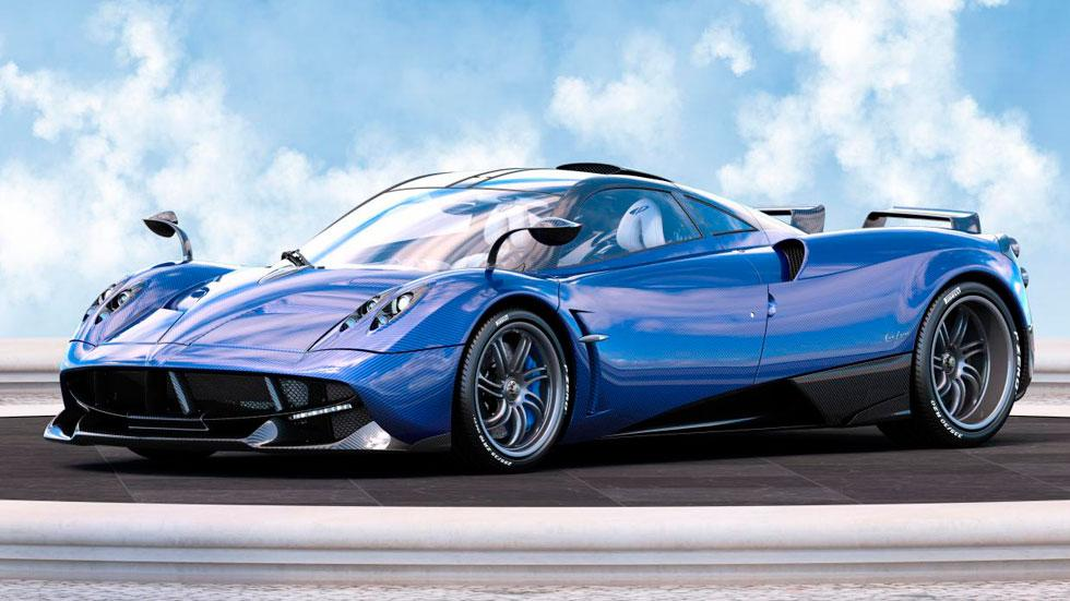 Pagani Huayra Pearl azul carbono one-off