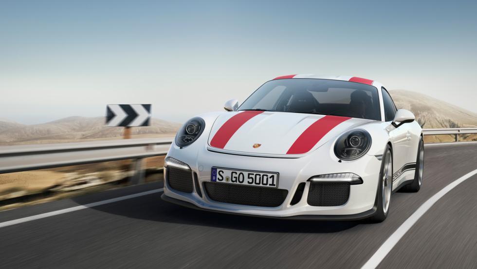 Porsche 911 R, delantero