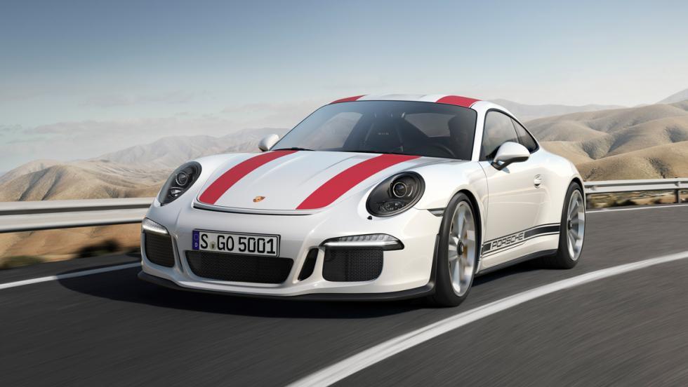Porsche 911 R, lateral