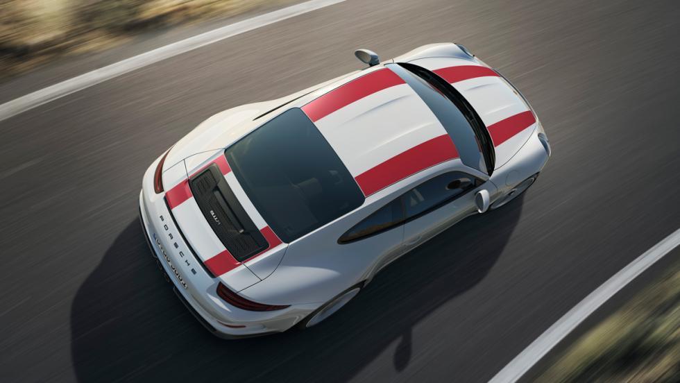 Porsche 911 R, techo