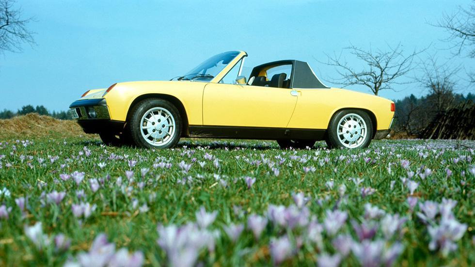 El Porsche 914 es quizá el modelo menos querido de la marca...