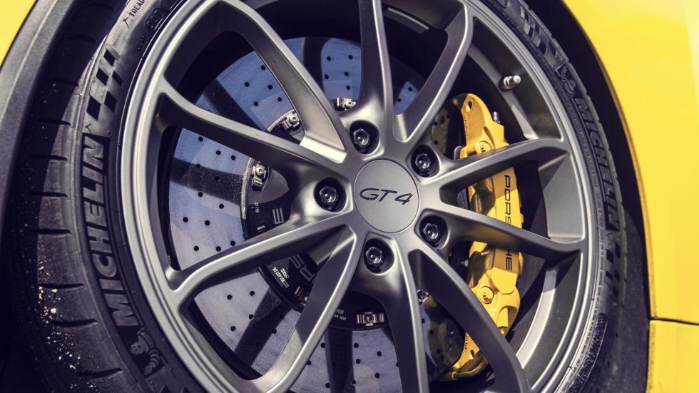 Pinzas de freno del Porsche Cayman GT4