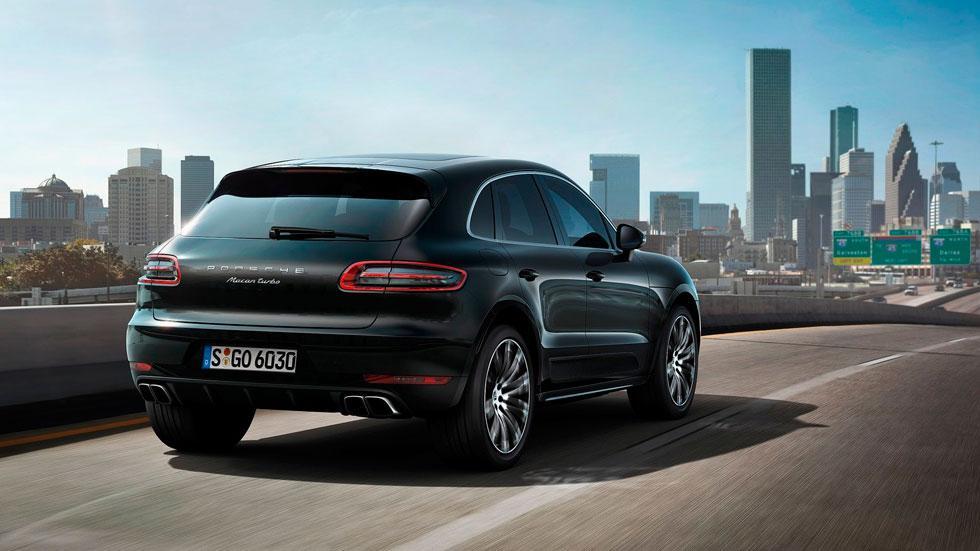Porsche Macan Turbo trasera suv deportivo lujo
