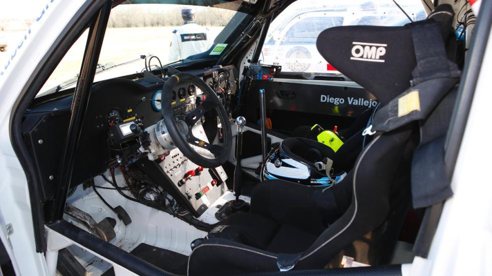 Prueba Mitsubishi Montero T3, interior