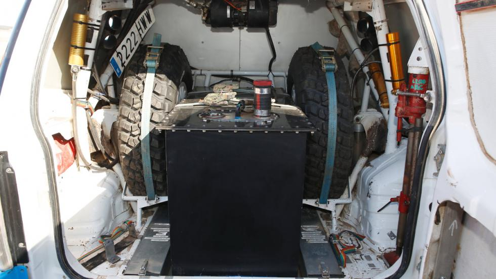 Prueba Mitsubishi Montero T3, maletero