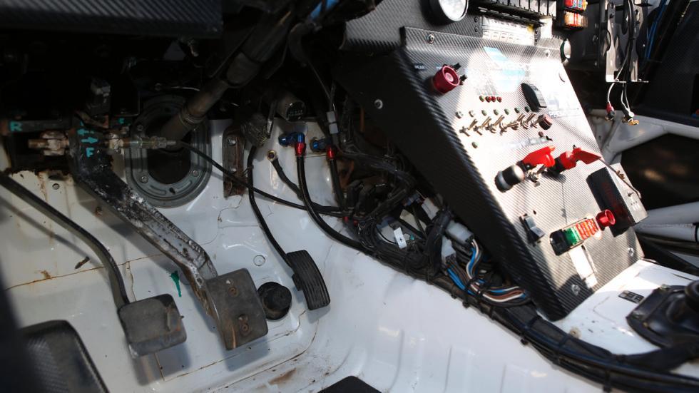 Prueba Mitsubishi Montero T3, pedalier